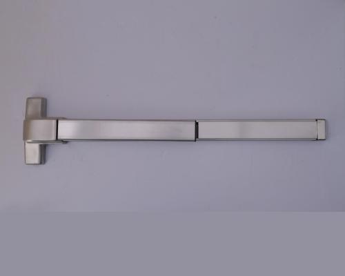 无框玻璃门上能安装推杆锁吗?